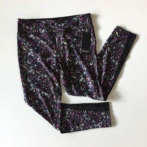 Vogo Athletica Leggings Print Mesh Pants Size XL
